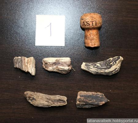 Основа для броши, кулона: 3 набора украшения дерево дрифтвуд ручной работы на заказ