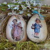 Пасхальные сувенирные яйца