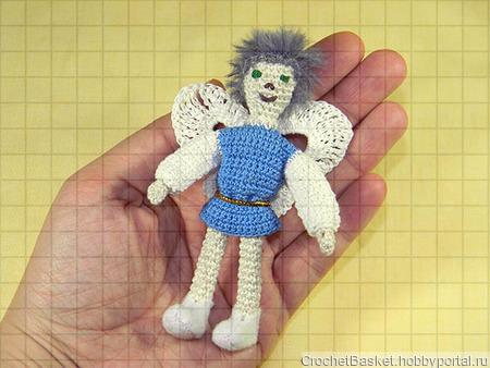 Мастер-класс по вязанию мягкой игрушки «Король эльфов» ручной работы на заказ
