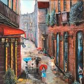 """Картина """"Летний дождь"""""""