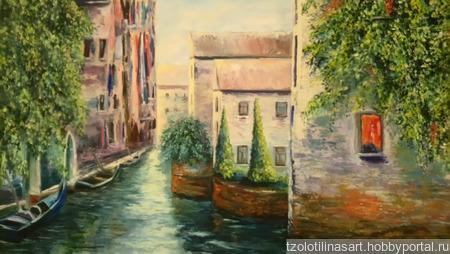 """Картина """"Венеция"""" ручной работы на заказ"""