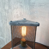 Настольный светильник в стиле Loft Треугольник