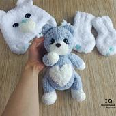 Плюшевая игрушка Сердечный Котик