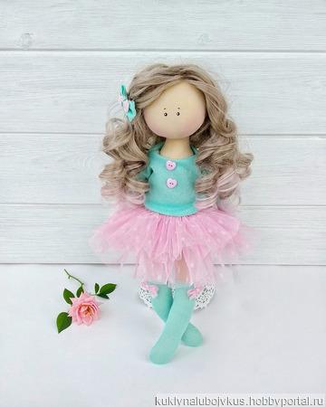 Кукла Mint candy ручной работы на заказ