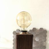 """Настольная лампа """"Куб на ножках"""" в стиле Лофт/Индастриал"""
