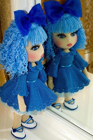 Кукла Мальвина ручной работы на заказ