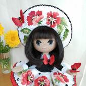 Интерьерная кукла Маковка