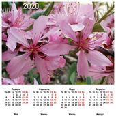 """Календарь настенный """"Цветы"""""""