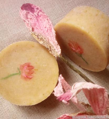 """Натуральное мыло """"Розовый пион"""" ручной работы на заказ"""