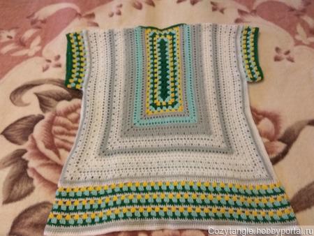 Вязаная блузка ручной работы на заказ