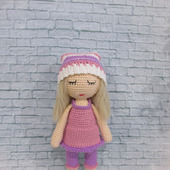 фото: кукла крючком