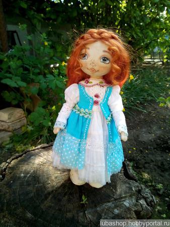 """Текстильная кукла """"Агния"""" ручной работы на заказ"""