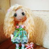 """Текстильная кукла """"Рыжик"""""""