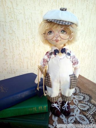 "Кукла ""Антошка"" ручной работы на заказ"