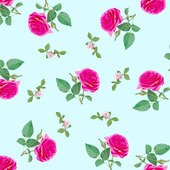 """Шаблон для ткани """"Розы"""""""