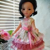"""Платье для куклы """"Розовый котенок"""""""