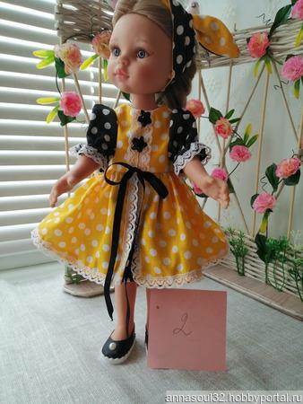 """Комплект одежды для куклы """"Прогулки по городу"""" ручной работы на заказ"""