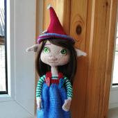Сказочная кукла Эльфа