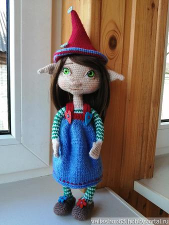 Сказочная кукла Эльфа ручной работы на заказ