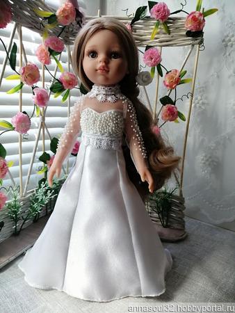 """Платье для куклы """"Соната"""" ручной работы на заказ"""