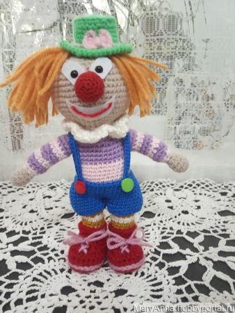 Клоун Боня ручной работы на заказ