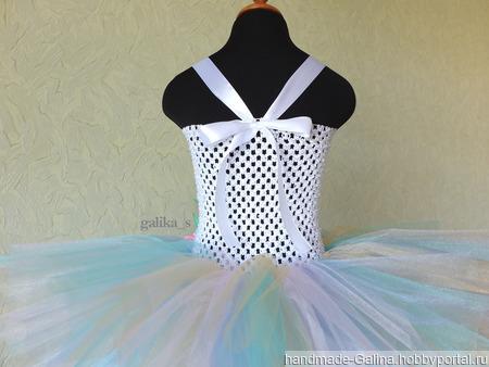 """Платье """"Сияние"""" - единорожка ручной работы на заказ"""