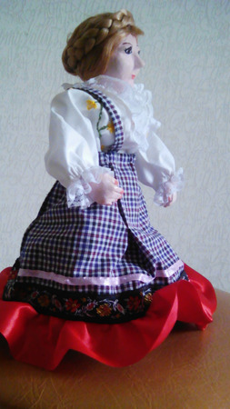 Кукла Акулина Егоровна ручной работы на заказ