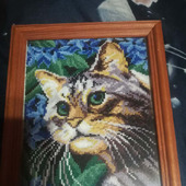 """Картина """"Кошка Мурка"""""""