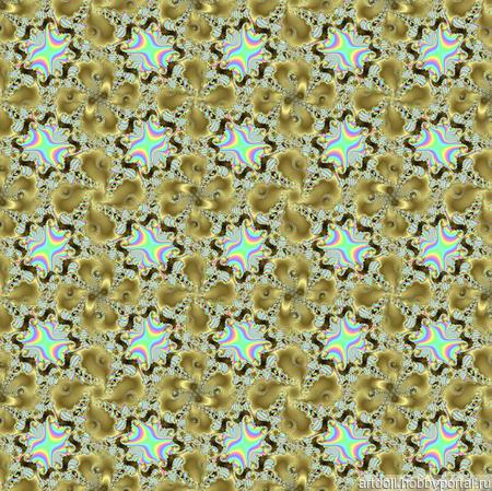 Ткань декоративная Golden Spiral шаблон для печати ручной работы на заказ