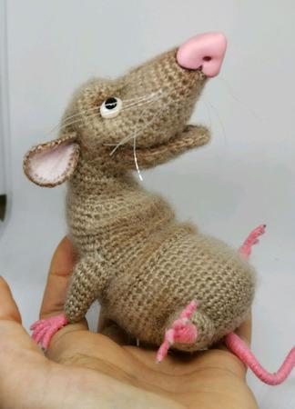 Год Крысы 2020: Крыс Кизил, он же Кизя ручной работы на заказ