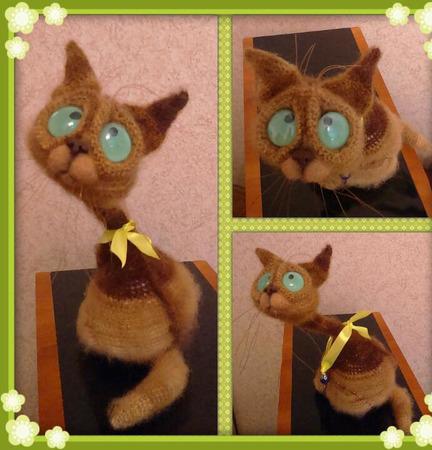 Котики Сиамы ручной работы на заказ