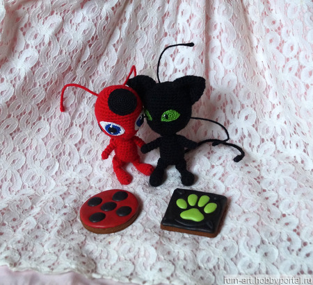 Мягкая игрушка Плагг -квами Супер Кота  Леди Баг ручной работы на заказ