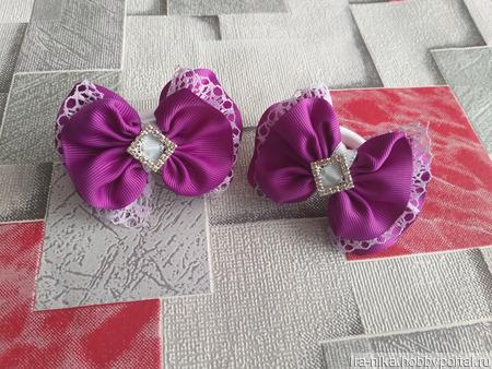 Бантики на резинках ручной работы на заказ