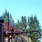 Кронштейн кованый  N 7