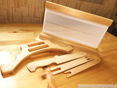 Бёрдышко - комплект поясного ткацкого станочка ручной работы на заказ