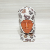 Шапка шлем зимний детский