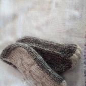 Следки-туфельки теплые (козий пух)