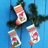 Носки новогодние «Веселые гномы»