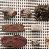 Кусочки дерева разные размеры формы цвета дрифтвуд