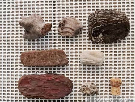 Кусочки дерева разные размеры формы цвета дрифтвуд ручной работы на заказ
