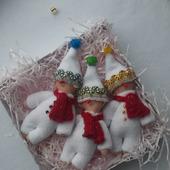 Снеговички на ёлку