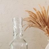 Маленькая бутылочка зиг-заг ваза