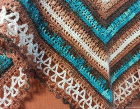Бактус-платок ручной работы на заказ