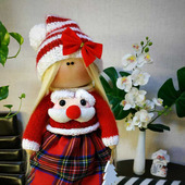 Куколка эльф Новогодний
