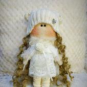 Интерьерная куколка Снегурочка