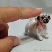 Мопсик - миниатюра