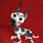 МК по вязанию Мраморного дога - собаки Баскервиля