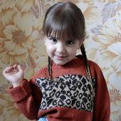 Детский свитер-оверсайз