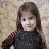 Платье-трапеция для девочки