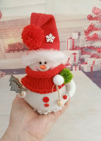 Снеговик Малыш ручной работы на заказ